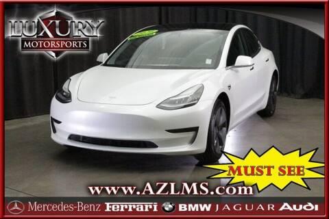 2020 Tesla Model 3 for sale at Luxury Motorsports in Phoenix AZ