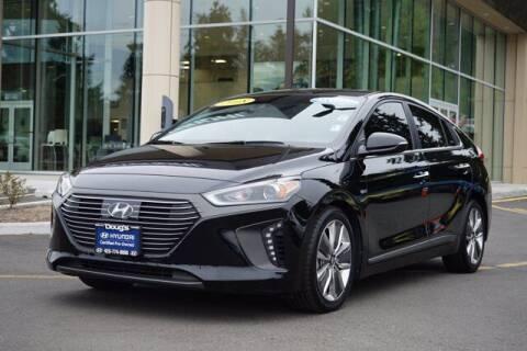 2018 Hyundai Ioniq Hybrid for sale at Jeremy Sells Hyundai in Edmonds WA