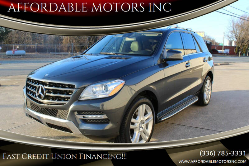 2015 Mercedes-Benz M-Class for sale at AFFORDABLE MOTORS INC in Winston Salem NC