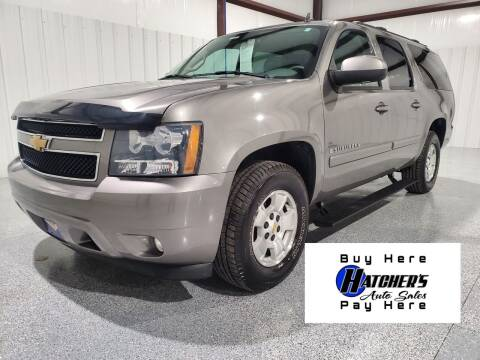 2007 Chevrolet Suburban for sale at Hatcher's Auto Sales, LLC - Buy Here Pay Here in Campbellsville KY