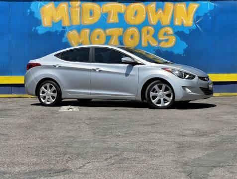 2012 Hyundai Elantra for sale at Midtown Motors in San Jose CA
