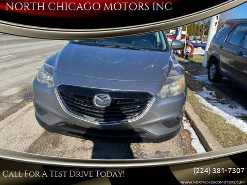 2013 Mazda CX-9 for sale at NORTH CHICAGO MOTORS INC in North Chicago IL