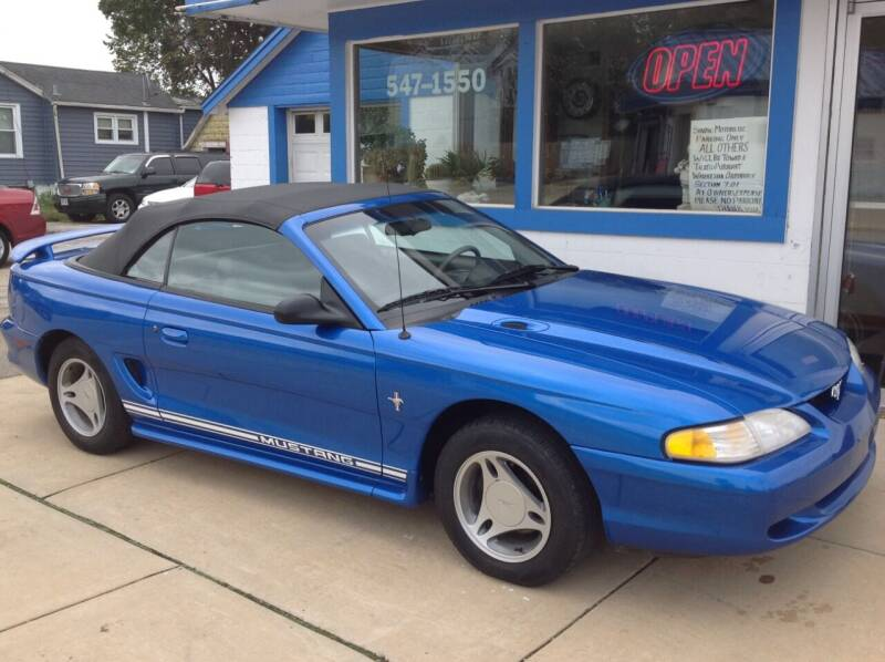 1998 Ford Mustang for sale at Sindic Motors in Waukesha WI