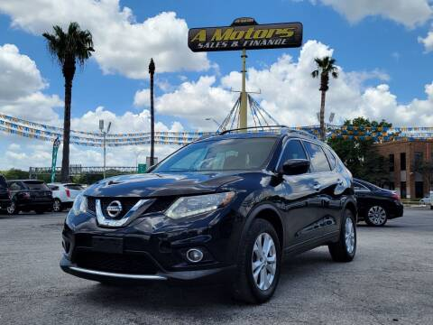 2016 Nissan Rogue for sale at A MOTORS SALES AND FINANCE - 6226 San Pedro Lot in San Antonio TX