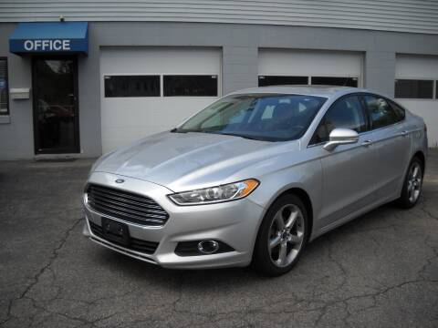 2014 Ford Fusion for sale at Best Wheels Imports in Johnston RI