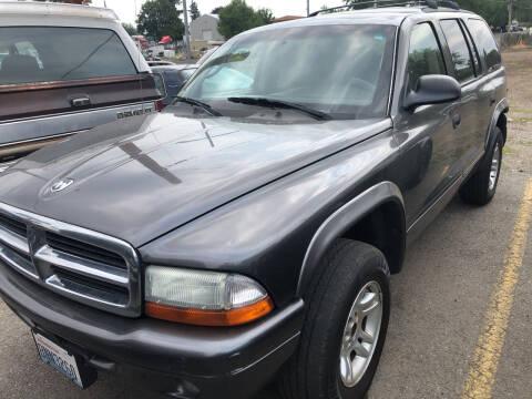 2003 Dodge Durango for sale at TTT Auto Sales in Spokane WA