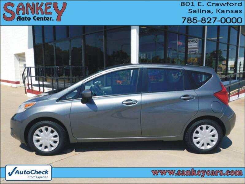 2016 Nissan Versa Note for sale at Sankey Auto Center, Inc in Salina KS