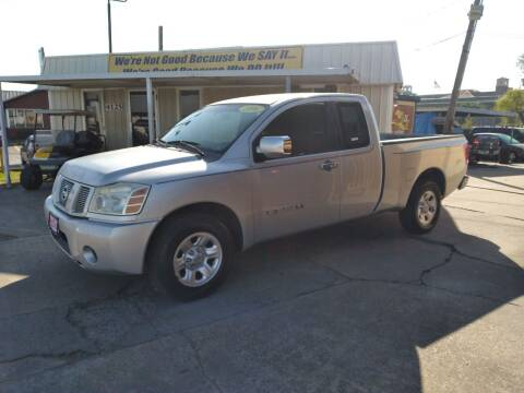 2006 Nissan Titan for sale at Taylor Trading Co in Beaumont TX