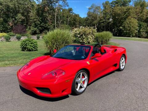 2002 Ferrari 360 Spider for sale at Gullwing Motor Cars Inc in Astoria NY