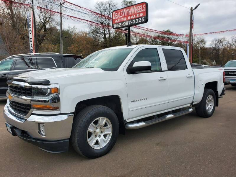 2017 Chevrolet Silverado 1500 for sale at Dealswithwheels in Inver Grove Heights MN