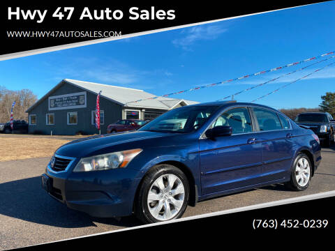 2009 Honda Accord for sale at Hwy 47 Auto Sales in Saint Francis MN