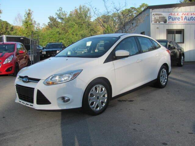 2012 Ford Focus for sale at Pure 1 Auto in New Bern NC