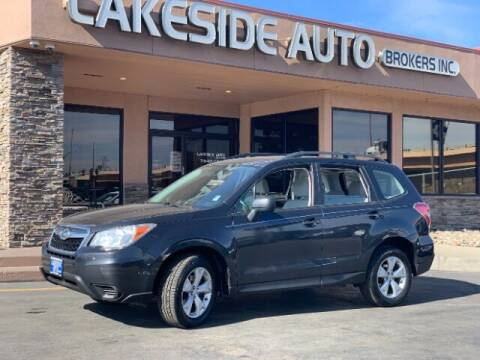 2015 Subaru Forester for sale at Lakeside Auto Brokers Inc. in Colorado Springs CO