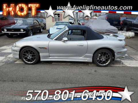 2004 Mazda MX-5 Miata for sale at FUELIN FINE AUTO SALES INC in Saylorsburg PA