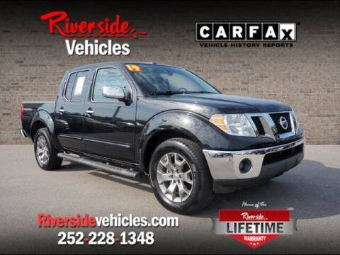 2019 Nissan Frontier for sale at Riverside Mitsubishi(New Bern Auto Mart) in New Bern NC