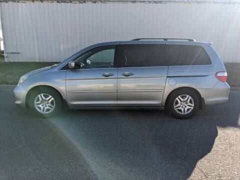2006 Honda Odyssey for sale at TNK Autos in Inman KS