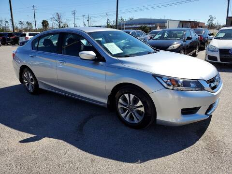 2014 Honda Accord for sale at Jamrock Auto Sales of Panama City in Panama City FL