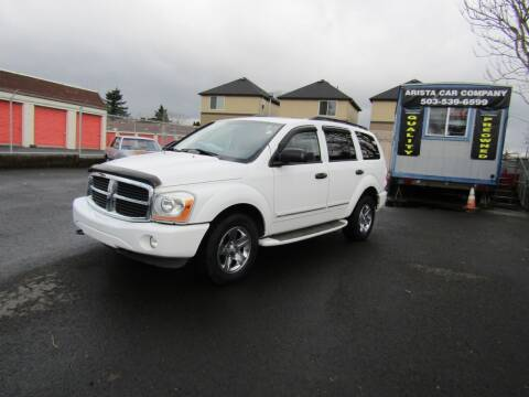 2004 Dodge Durango for sale at ARISTA CAR COMPANY LLC in Portland OR
