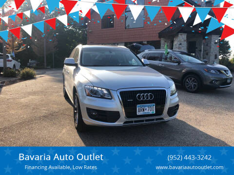 2009 Audi Q5 for sale at Bavaria Auto Outlet in Victoria MN