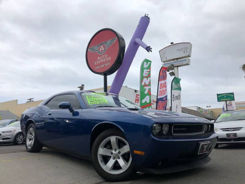 2010 Dodge Challenger for sale at Auto Express in Chula Vista CA