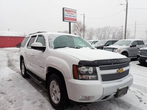 2009 Chevrolet Tahoe for sale at Marty's Auto Sales in Savage MN
