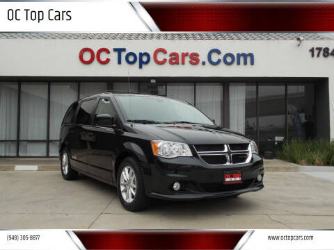 2018 Dodge Grand Caravan for sale at OC Top Cars in Irvine CA