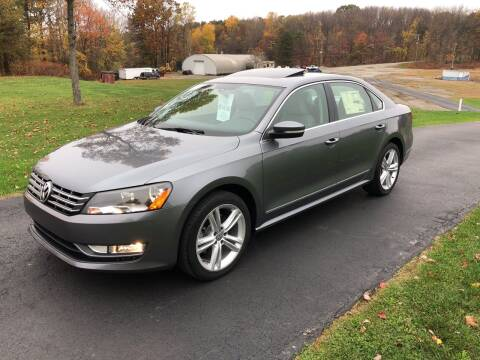 2014 Volkswagen Passat for sale at THATCHER AUTO SALES in Export PA