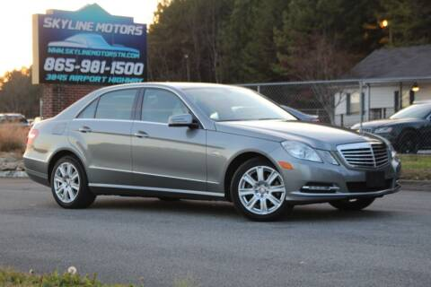 2012 Mercedes-Benz E-Class for sale at Skyline Motors in Louisville TN
