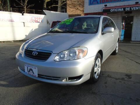 2007 Toyota Corolla for sale at IBARRA MOTORS INC in Cicero IL