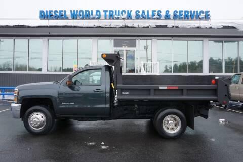 2018 Chevrolet SILVERADO K3500 LT for sale at Diesel World Truck Sales in Plaistow NH