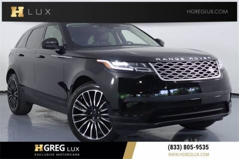 2020 Land Rover Range Rover Velar for sale at HGREG LUX EXCLUSIVE MOTORCARS in Pompano Beach FL