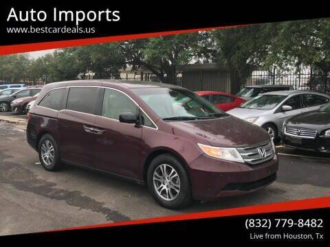 2011 Honda Odyssey for sale at Auto Imports in Houston TX