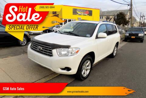 2010 Toyota Highlander for sale at GSM Auto Sales in Linden NJ