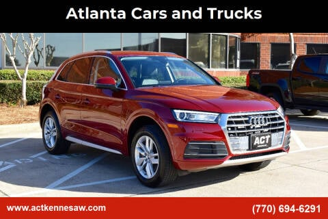 2020 Audi Q5 for sale at Atlanta Cars and Trucks in Kennesaw GA