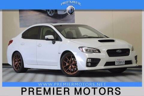2017 Subaru WRX for sale at Premier Motors in Hayward CA