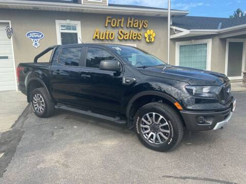 2019 Ford Ranger for sale at Fort Hays Auto Sales in Hays KS