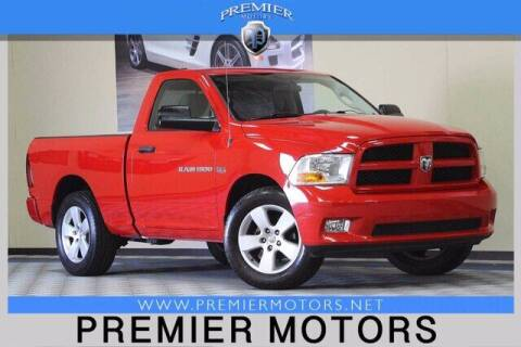 2012 RAM Ram Pickup 1500 for sale at Premier Motors in Hayward CA