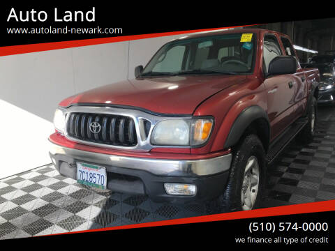 2003 Toyota Tacoma for sale at Auto Land in Newark CA