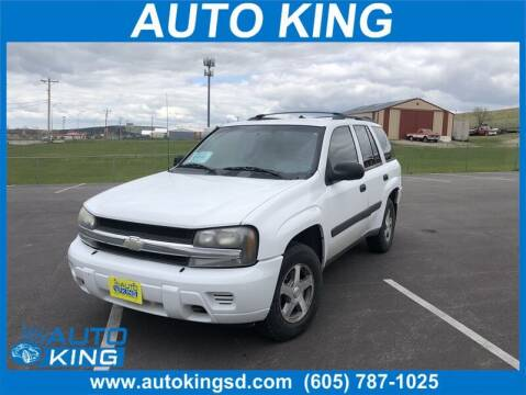 2005 Chevrolet TrailBlazer for sale at Auto King in Rapid City SD