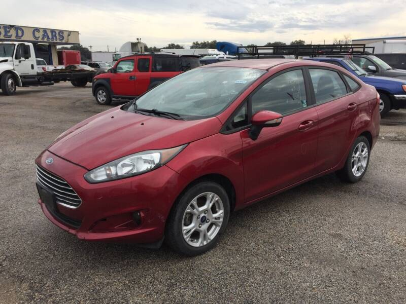 2015 Ford Fiesta for sale at BSA Used Cars in Pasadena TX