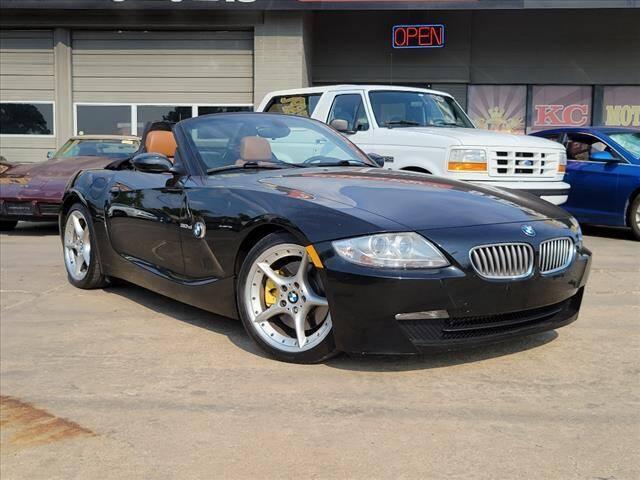 2008 BMW Z4 for sale at KC MOTORSPORTS in Tulsa OK