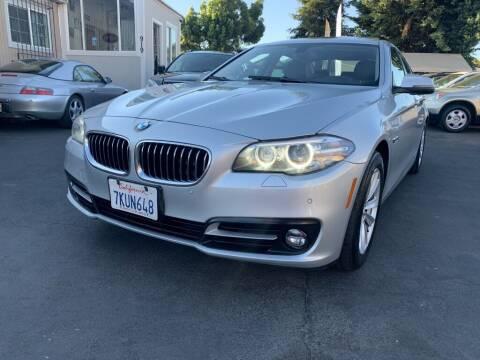 2015 BMW 5 Series for sale at Ronnie Motors LLC in San Jose CA