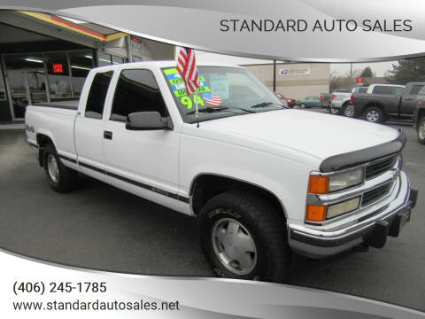 1994 Chevrolet C/K 1500 Series for sale at Standard Auto Sales in Billings MT