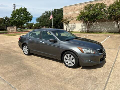 2009 Honda Accord for sale at Pitt Stop Detail & Auto Sales in College Station TX