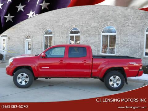 2008 Toyota Tacoma for sale at C.J. Lensing Motors Inc in Decorah IA
