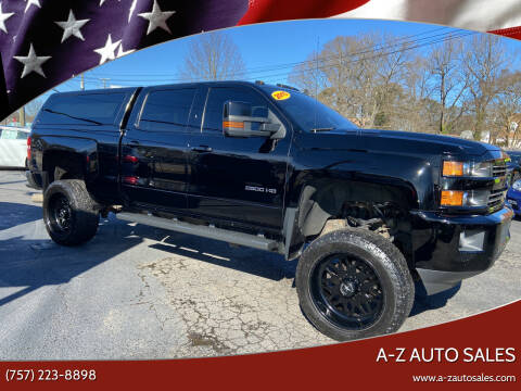 2015 Chevrolet Silverado 2500HD for sale at A-Z Auto Sales in Newport News VA