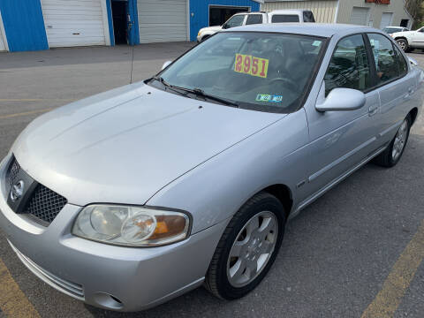 2006 Nissan Sentra for sale at BURNWORTH AUTO INC in Windber PA