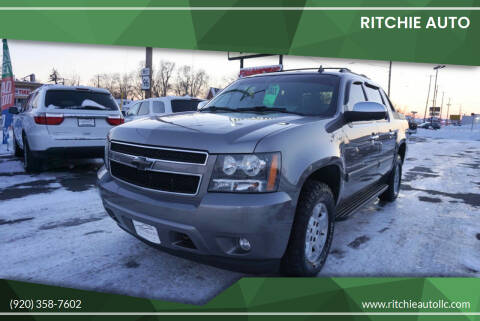2008 Chevrolet Avalanche for sale at Ritchie Auto in Appleton WI