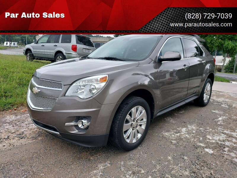 2010 Chevrolet Equinox for sale at Par Auto Sales in Lenoir NC