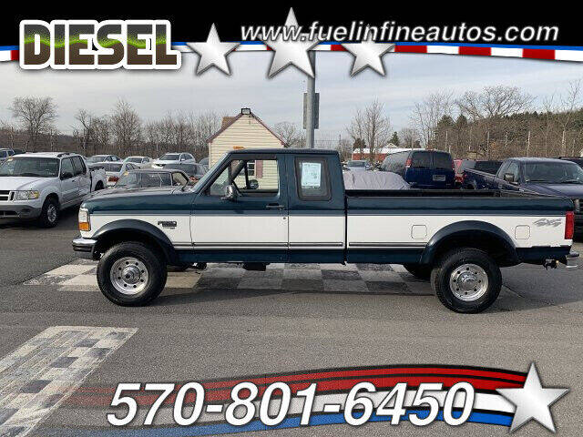 1997 Ford F-250 for sale at FUELIN FINE AUTO SALES INC in Saylorsburg PA